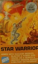 Star Warrior (Epyx 1981) Atari 800xl/130xe cassette (tape, box, manual) Works