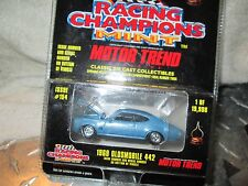 1969 OLDSMOBILE 442 MINT collector  Racing Champions motor trend  1:58 LIMITED