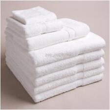 6 x LUXURY WHITE BATH TOWEL 660gms (75X154 CM) Hotel Airbnb Massage