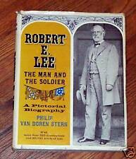 Robert E. Lee The Man And The Soldier Biography Book Philip Van Doren Stern