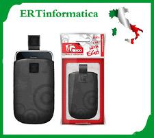 CUSTODIA SACCHETTO FONDINA IN ECO PELLE PER SAMSUNG NOKIA SONY HTC LG MOTOROLA