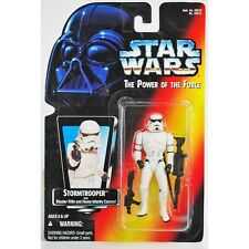 Star Wars Power of the Force 2 Action Figure - Stormtrooper - Red Card
