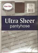 0 ultra sheer panty hose pantyhose stocking girl TAUPE