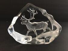 Mats Jonasson Crystal Reindeer