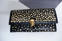Alexander Mcqueen BRAND NEW Studded Skull Purse Wallet Leather Rrp €695