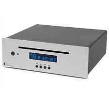 Pro-Ject CD Box DS gama alta HiFi reproductor de CD m. Slot-mecanismo en plata de unidad