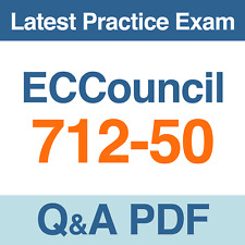 712-50 EC-Council Certified CISO (CCISO) Practice Exam Questions PDF