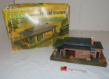 Tyco HO Scale Assembled Freight Station - Vintage