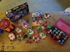 Rare Bakugan Lot of 46  Cases, Cards Wrist Shooter Giants Translucent NEW pack