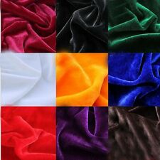 Velvet Fabric for Curtain Table Cloth Craft Upholstery Background By Meter New