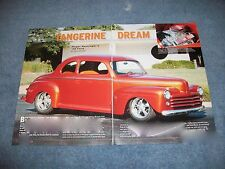 "1948 Ford 2-Door Coupe Street Rod Article ""Tangerine Dream"""