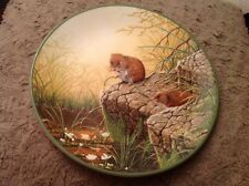 Royal Doulton Foraging Bank Voles Rollinsons Portraits Nature Collectors Plate