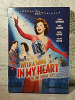 With a Song in My Heart : THE JANE FROMAN STORY 1952 - DVD - SUSAN HAYWARD