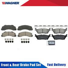 Front & Rear 8 PCS Wagner Ceramic Disc Brake Pads Set For FORD F-150 2015-2016