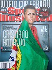 New SPORTS ILLUSTRATED CRISTIANO RONALDO PORTUGAL 2014 WORLD CUP No Label