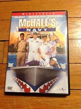 McHALE'S NAVY (DVD, WS) Tom Arnold,David Grier,Debra Messing