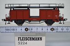 Fleischmann HO 5224 Autotransport Einheit für 4Auto 4332799-2 DB (CD/099-15R1/9)