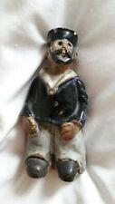 Tremar Pottery Figurine  SAILOR - 12cm Tall- Signed