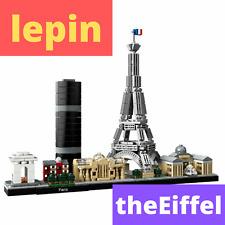 Architecture The Eiffel Tower Collection Paris 777Pcs Building Block Brick Model