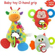 Newborn Baby Infant Animal Soft Rattles Teether Hanging Bell Plush Bebe Toys ,