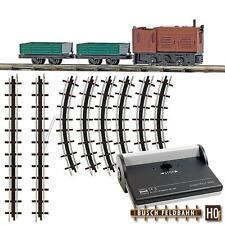 BUSCH 12004 Locomotora H0f Set de iniciación & Garantía De 2 Años Distribuidor