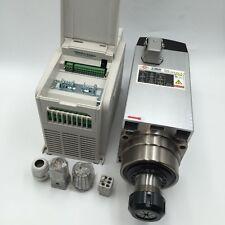 220V SPINDLE MOTOR KIT 4.5KW ER32 COLLET 18000RPM&VFD INVERTER DRIVER CNC ROUTER