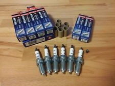6x Vauxhall Opel Vectra 2.8i Turbo y2005-2009 = Brisk YS Silver Spark Plugs