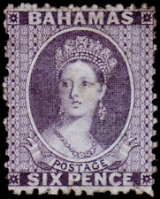 Bahamas Scott 14 (1863) Used H  G-F, CV $85.00 M