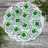 "12 LUCKY 1.25"" Pins  Pinback BUTTONS BADGES - irish good luck party favors gifts"
