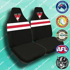 NEW! SYDNEY SWANS FRONT CAR SEAT COVER, OFFICIAL AFL, AIRBAG COMPATIBLE
