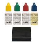 JSP Gold Jewelry Testing Acid 10k 14k 18k 22k Kit + Scratch Test Stone