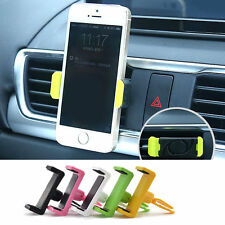 Universal Car Air Vent Mount Holder Mobile Phone Stand Cradle For Phone Black