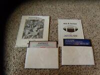 GFL Championship Football and 4th & Inches for the Commodore 64 C64