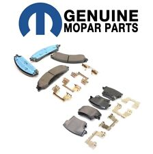 NEW For Chrysler 300 Dodge Challenger Front and Rear Disc Brake Pad Sets Mopar