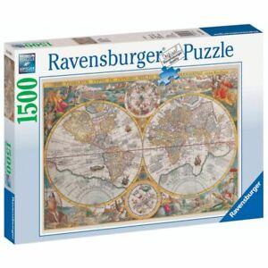 Ravensburger Puzzle 1500 Piece Historical Map