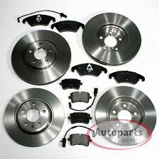 Audi A8 [4H] - Discos de Freno Pastillas Frenos Para Delantero y Trasero