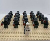 20x Grey Storm Troopers Mini Figures (LEGO STAR WARS Compatible)