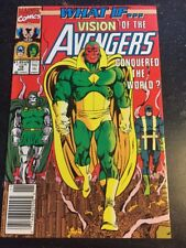 What If#19 Incredible Condition 9.0(1990) Vision Conquered Earth!!
