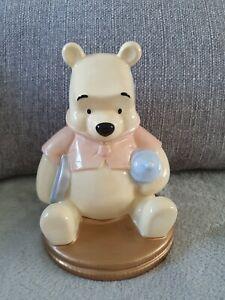 Winnie the Pooh Disney Store Ceramic Piggy Bank Money Box