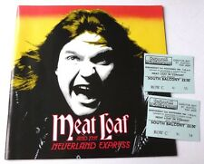 Meatloaf & the Neverland Express 1984 TOUR PROGRAMME AND 2 x CONCERT TICKETS