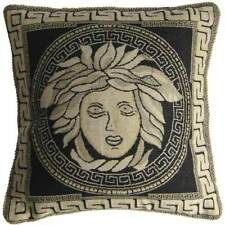 Pillowcase Cover Black Medusa Cushion dekokissen 40 x 40 cm Greek Antiquity