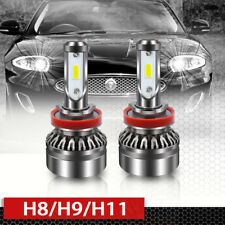 H8 H9 H11 Led Headlight Bulbs 6000LM 6500K DOT All-in-One Conversion Kit