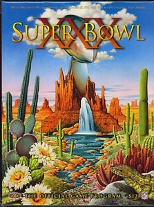 SUPER BOWL XXX GAME PROGRAM: DALLAS COWBOYS vs. PITTSBURGH STEELERS (NM-MT) 1996