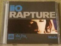 IIO RAPTURE RARE OOP 6 TRACK REMIX CD FREE SHIPPING