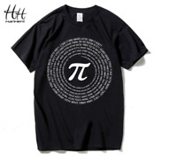 New Pi mens T-shirt men's cotton loose with short sleeves