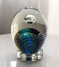 EINZIGARTIGER GLAS BRIEFBESCHWERER PAPERWEIGHT GLASS CENEDESE ZANFIRICO MURANO