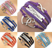 Fabric Alloy Fashion Bracelets