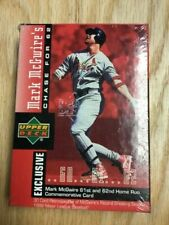1998 Upper Deck Baseball Mark McGwire Chase for 62 Trading 30 Card Set
