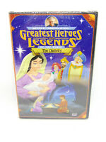 Greatest Heroes and Legends of the Bible: The Nativity DVD Brand New Sealed