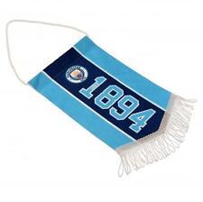 Manchester city fc man city mini pennant sn club crest hanging drapeau